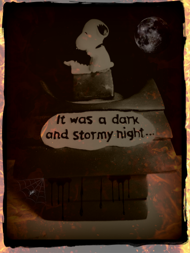A creative essay on the topic of dark and stormy night