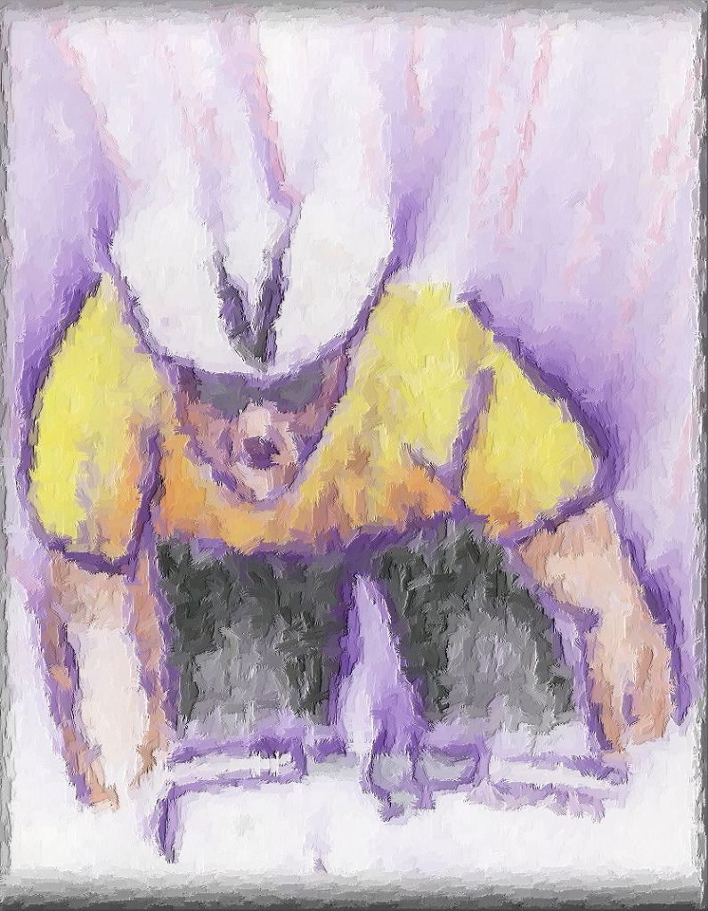 'maillot jaune'  Crayon & Ink Wash (digitally enhanced)  Original 8x10 inches  Maleko