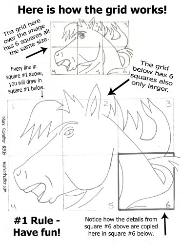 How to Draw Using a Grid ©