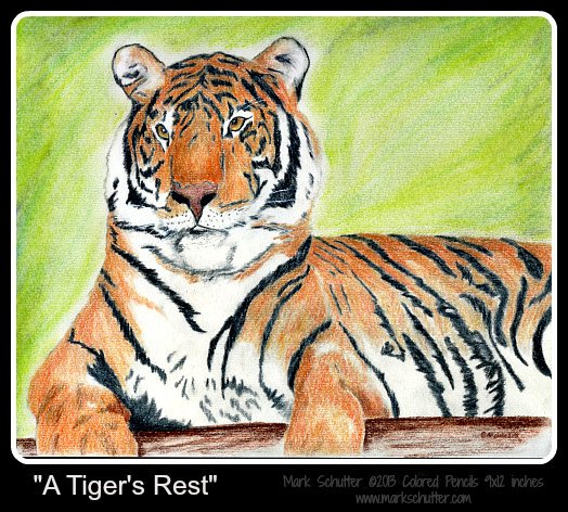 A Tiger's Rest