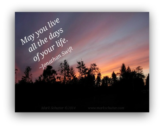 Live Your Life Now!