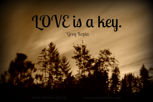 LOVE is a key