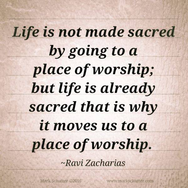 A Place of Worship | Ravi Zacharias | Just Believe | Grace Wins | Hope Lives | Love Changes People | You Matter