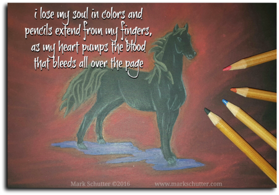 Soul Colors | www.markschutter.com | horse | art | drawing | poetry | pastels