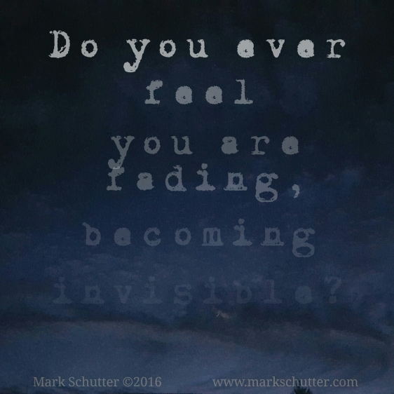 if you become invisible